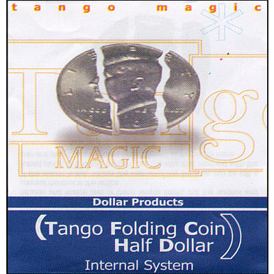 Folding Coin - Half Dollar - Premium - magic