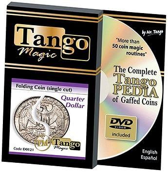 Folding Quarter dollar - magic
