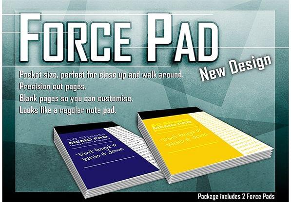 Force Pad 2  Set of Two - magic