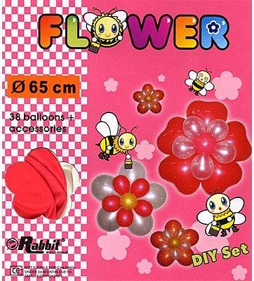 Four Balloon Flower Kit DIY SET - magic