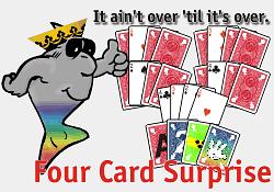 Four Card Surprise - magic