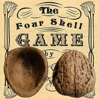 Four Pocket Small Walnut Shells - magic