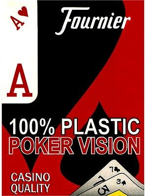 Fournier Plastic Playing Cards - magic