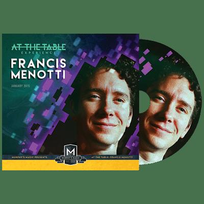 Francis Menotti Live Lecture DVD - magic