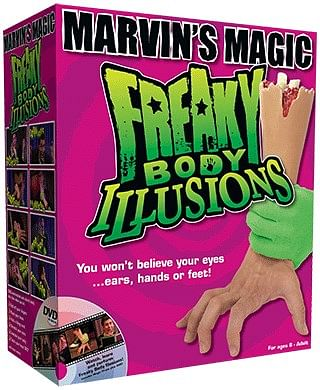 Freaky Body Illusions - magic