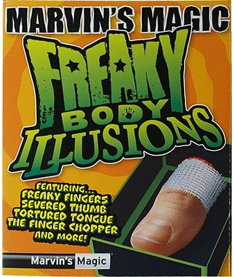 Freaky Body Parts Finger! - magic