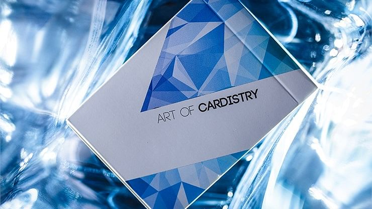 Frozen Art of Cardistry Playing Cards - magic