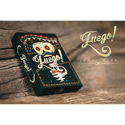 Fuego! - Day of the Dead Inspired Playing Cards (Luna Edition) - magic