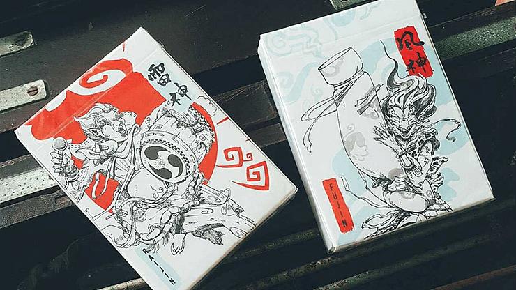 Fujin Playing Cards - magic