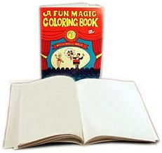 Fun Magic Coloring Book (Blank) - magic