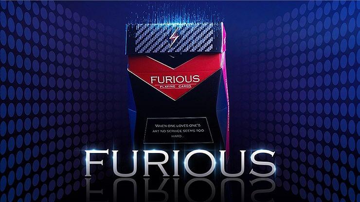 Furious Playing Cards - magic
