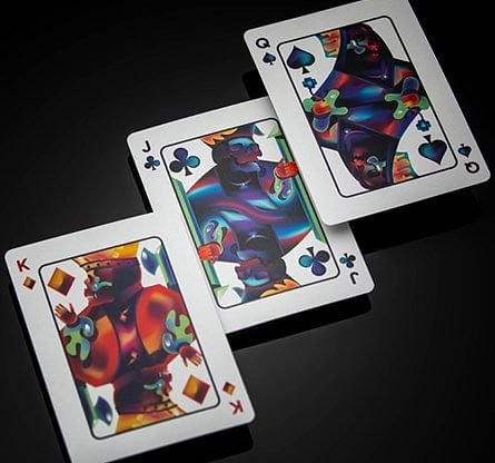 Furious Skull Playing Cards