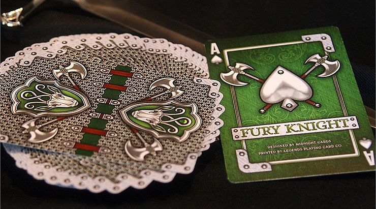 Fury Knight Playing Cards