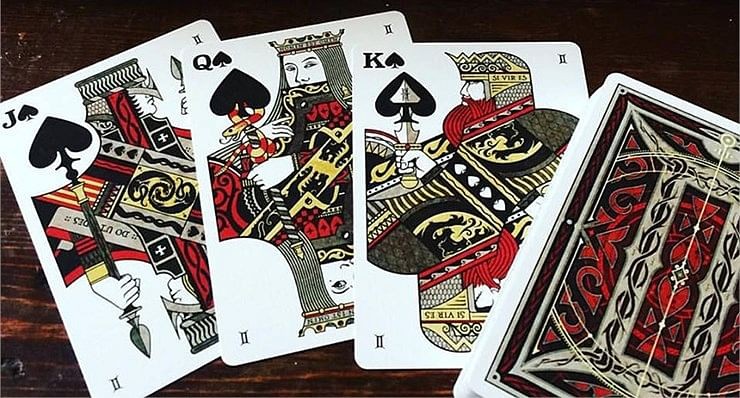 Gemini Ignis Playing Cards