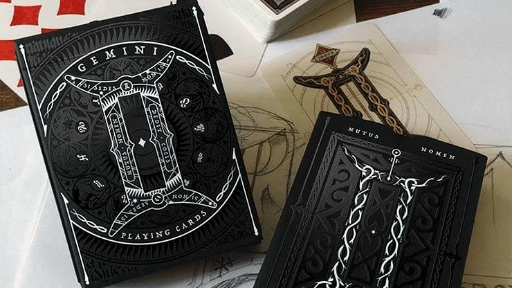 Gemini Noctis  Playing Cards - magic