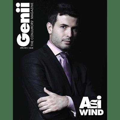 Genii Magazine - April 2015  - magic