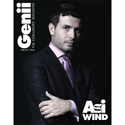 Genii Magazine - April 2015  - magic