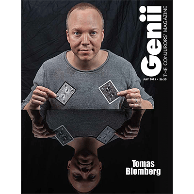 Genii Magazine - July 2015  - magic