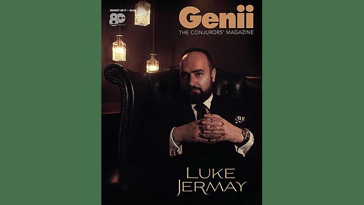 "Genii Magazine ""Luke Jermay"" August 2017 - magic"