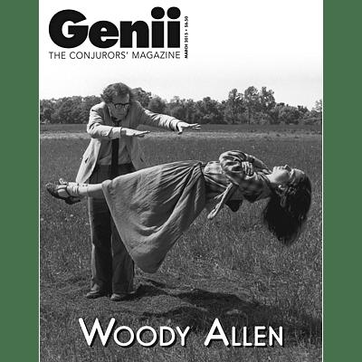 Genii Magazine - March 2015  - magic