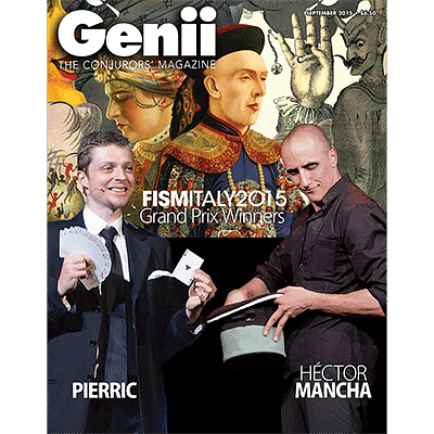 Genii Magazine - September 2015  - magic