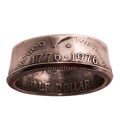 Genuine Half-Dollar Ring - magic