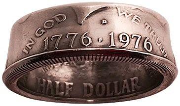 Genuine Half-Dollar RingBy Diamond Jim Tyler - magic