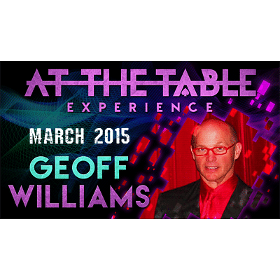 Geoff Williams Live Lecture - magic