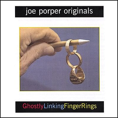 Ghostly Linking Finger Rings - magic