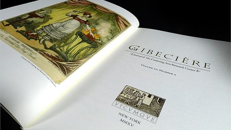 Gibecière 20, Summer 2015, Volume 10, No. 2