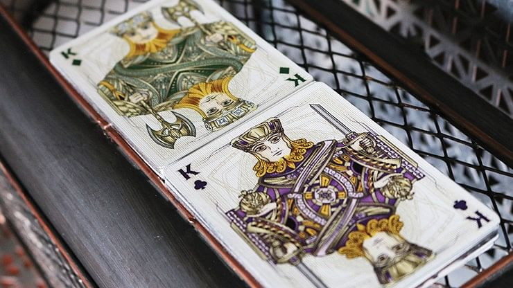 Gilded Edition Black Magic Playing Cards