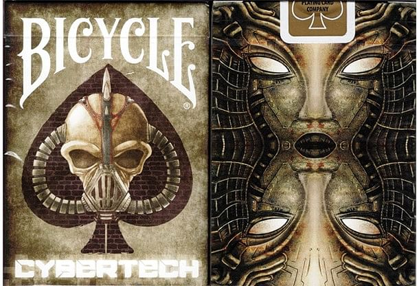 Bicycle Cybertech Playing Cards - magic