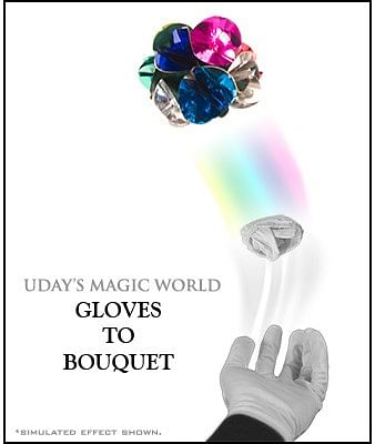 Gloves to Bouquet - magic