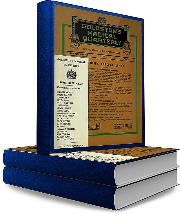 Goldston's Magical Quarterly - magic