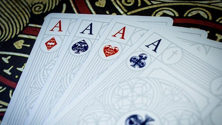 Graveyard Playing Cards