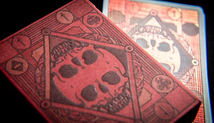 Graveyard Playing Cards - magic