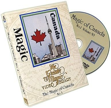 Greater Magic Video Library 50 - The Magic of Canada Volume 1 - magic