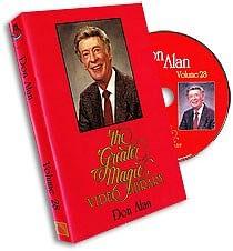 Greater Magic Video Volume 28 - Don Alan - magic