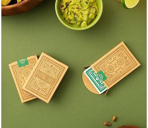 DKNG Green Wheel Playing Cards - magic