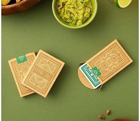 Green Wheel Playing Cards - magic