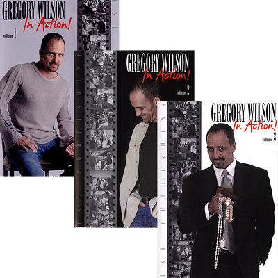 Gregory Wilson In Action Volumes 1 - 3 - magic