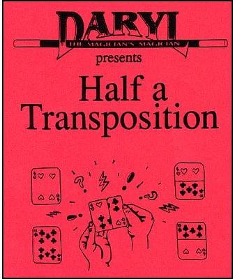 Half A Transposition - magic