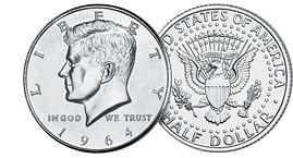 Half Dollars - Roll of 20 coins - magic