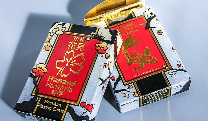 Hanami Hanafuda Playing Cards - magic