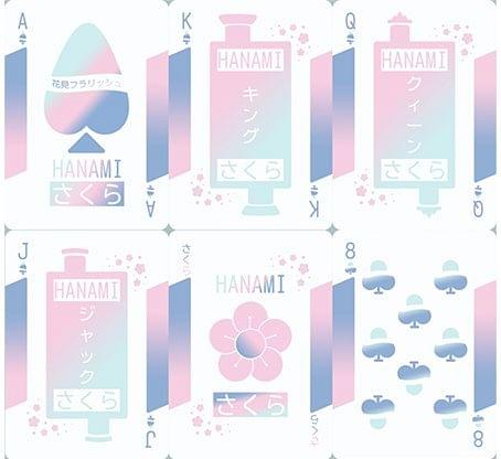 Hanami Playing Cards