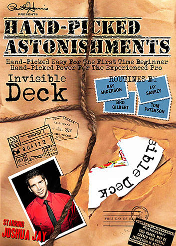 Hand-Picked Astonishments: Invisible Deck - magic
