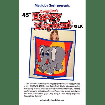 "Happy Elephant Silk 45"" - magic"