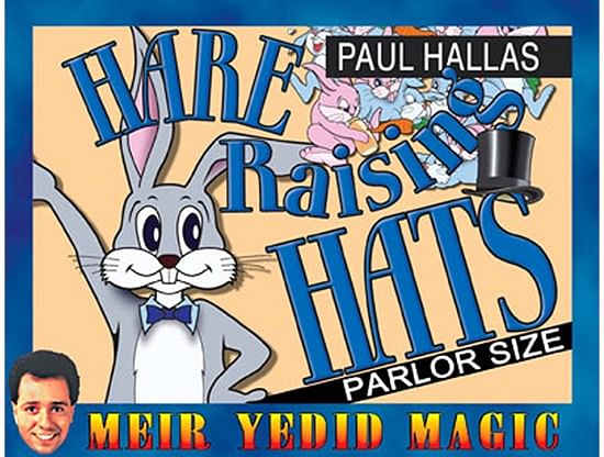 Hare Raising Hats (Parlor Size) - magic