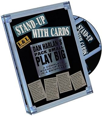 Harlan Stand Up With Cards - magic