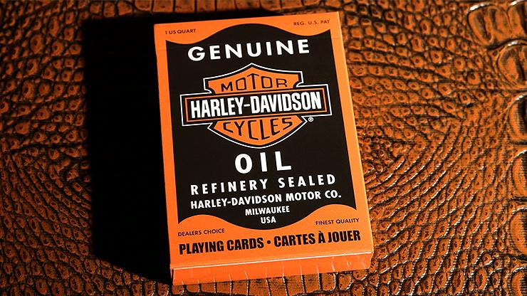 Harley Davidson Oil Playing Cards - magic